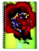 Flower With'in Spiral Notebook