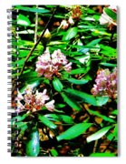 Flowered Tree Spiral Notebook