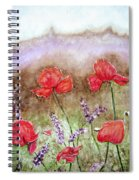 Flowering Field Spiral Notebook