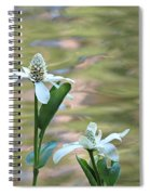 Flowering Pond Plant Spiral Notebook