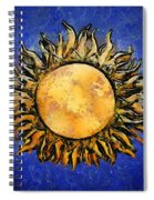 Flowering Sun Spiral Notebook