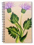 Flowering Thistle Spiral Notebook