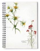 Flowers 1950 Spiral Notebook