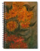 Flowers 5 Spiral Notebook