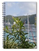Flowers And Freedom Spiral Notebook