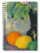 Flowers And Fruits Spiral Notebook
