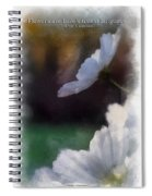 Flowers Are Loves Truest Language 01 Spiral Notebook