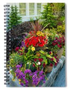 Flowers At Entrance Spiral Notebook