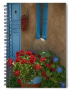 Flowers At Ranchos De Taos Spiral Notebook
