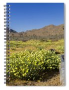 Flowers At The Headstone Spiral Notebook