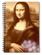 Flowers For Mona Lisa Spiral Notebook