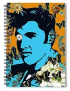 Flowers For The King Of Rock And Roll Spiral Notebook