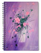 Flowers From The Field Spiral Notebook