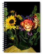 Flowers From The Heart Spiral Notebook