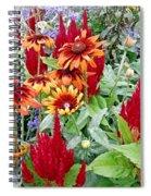 Flowers Galore Spiral Notebook