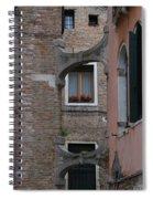 Flowers In A Window Spiral Notebook