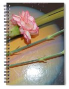 Flowers In Space Spiral Notebook