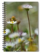 Flowers In The Hight Mountains. Spiral Notebook