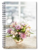 Flowers In Vase Spiral Notebook