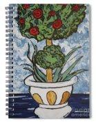 Flowers In Vase Spiral Notebook