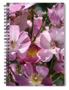 Flowers- Mass Roses Spiral Notebook