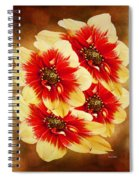 Flowers Of Flowers Spiral Notebook