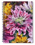 Flowers Of Love Spiral Notebook