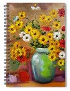 Flowers - Still Life Spiral Notebook