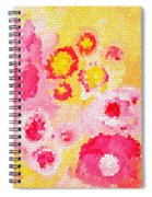 Flowers Vii Spiral Notebook