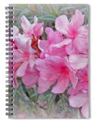 Flowers With Maya Angelou Verse Spiral Notebook