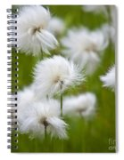 Flowery Cotton Spiral Notebook