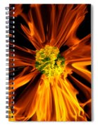 Flowery Flames Spiral Notebook