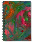 Flowing Color Spiral Notebook