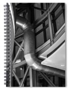 Flowing Duct Spiral Notebook