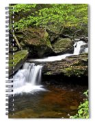 Flowing Falls Spiral Notebook
