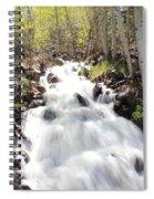 Flowing Fast Spiral Notebook