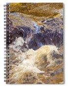 Flowing River Rapids Spiral Notebook