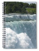 Flowing Strong Spiral Notebook