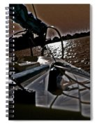 Floyd And A Setting Sun Spiral Notebook
