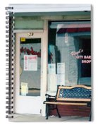 Floyd's Barber Shop Nc Spiral Notebook