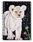 Fluffy And Thistle Spiral Notebook