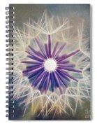 Fluffy Sun - 9bt2a Spiral Notebook