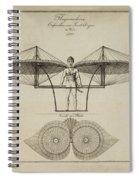 Flugmashine Patent 1807 Spiral Notebook