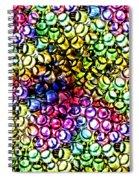 Fluorescent Straws Spiral Notebook