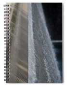 Fluted Water Spiral Notebook