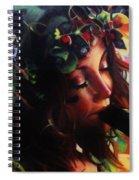 Fluting Fairy Spiral Notebook