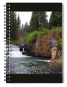 Fly Fisherman's Paradise Spiral Notebook