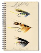 Fly Fishing-jp2095 Spiral Notebook