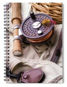 Fly Fishing Still Life Spiral Notebook