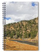 Fly Fishing The Big Hole River Montana Spiral Notebook
